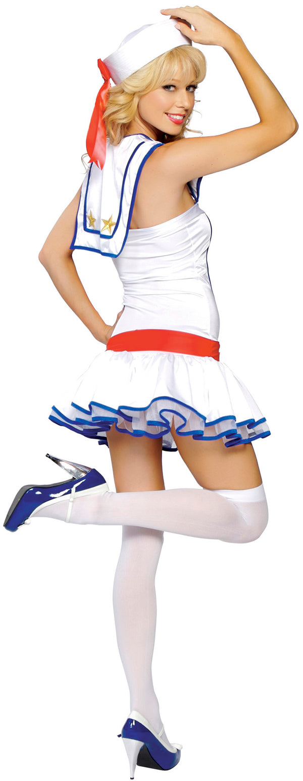 Flirty First Mate Costume Back RM4095