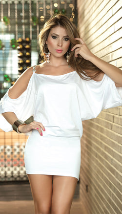 Off Shoulder Dress ES4151