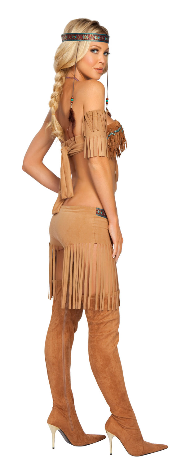 Cherokee Warrior Costume Back RM4205
