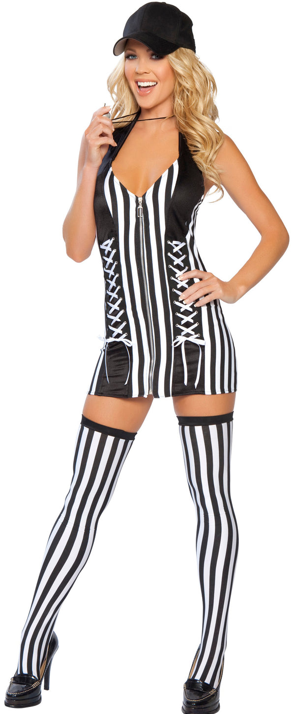 Sexy Referee Halloween Costume RM4221