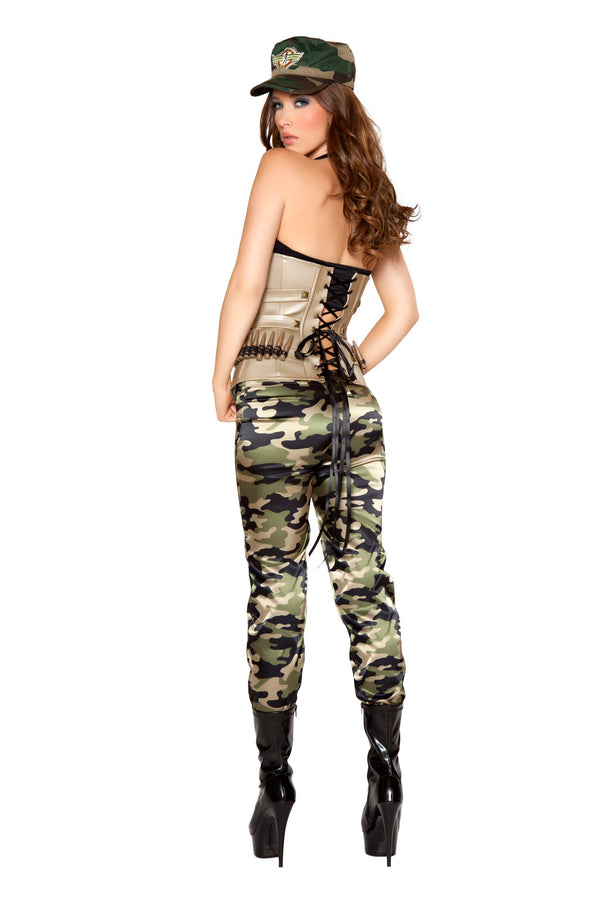 Four Piece Sensual Soldier Camouflage Back RM4331