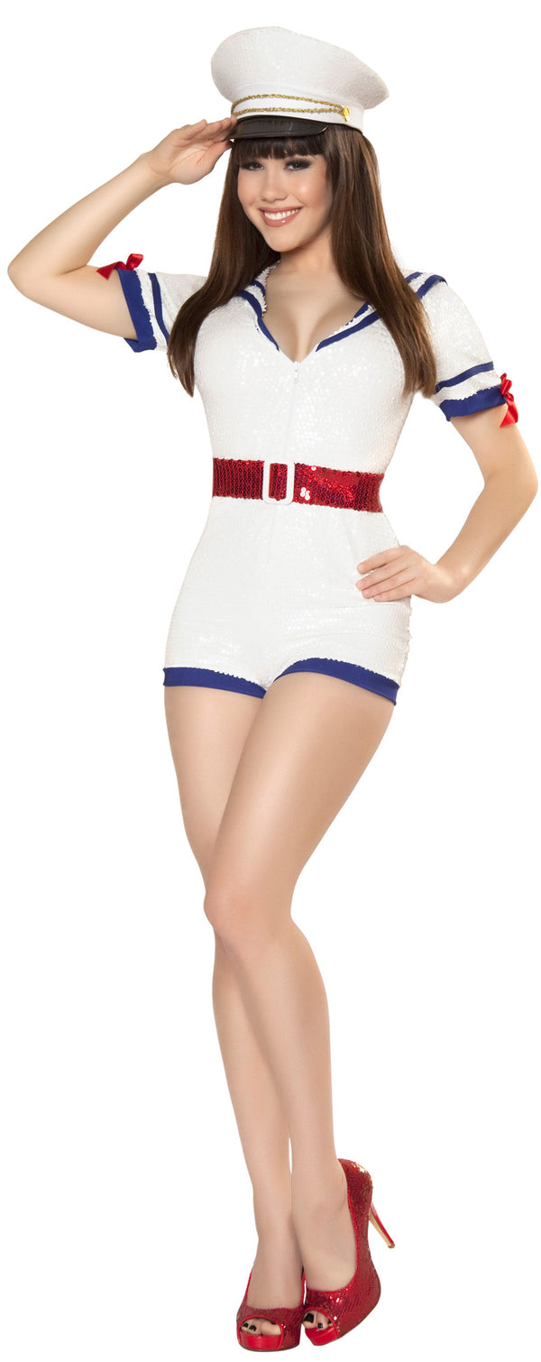 Playful Pinup Captain Front RM4340