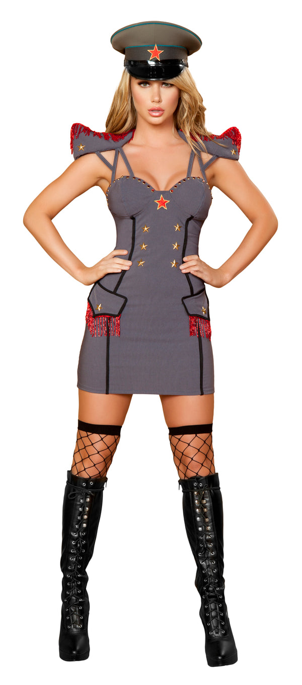 Sexy General Costume Front Grey RM4385