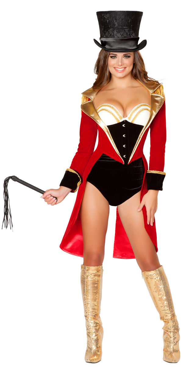 Naughty Ring Leader Adult Costume Front RM4517