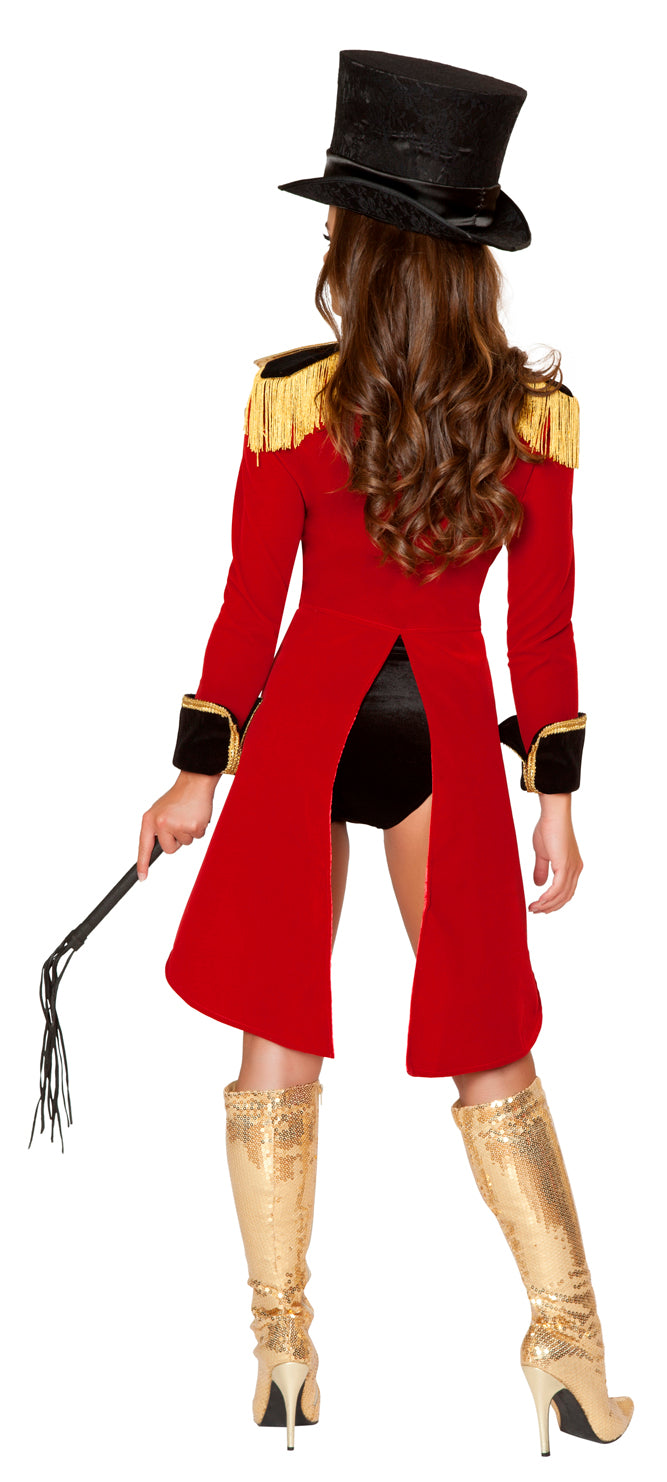 Naughty Ring Leader Adult Costume Back RM4517
