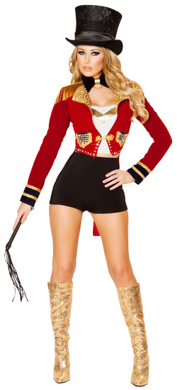 Seductive Circus Leader Adult Costume Front RM4518