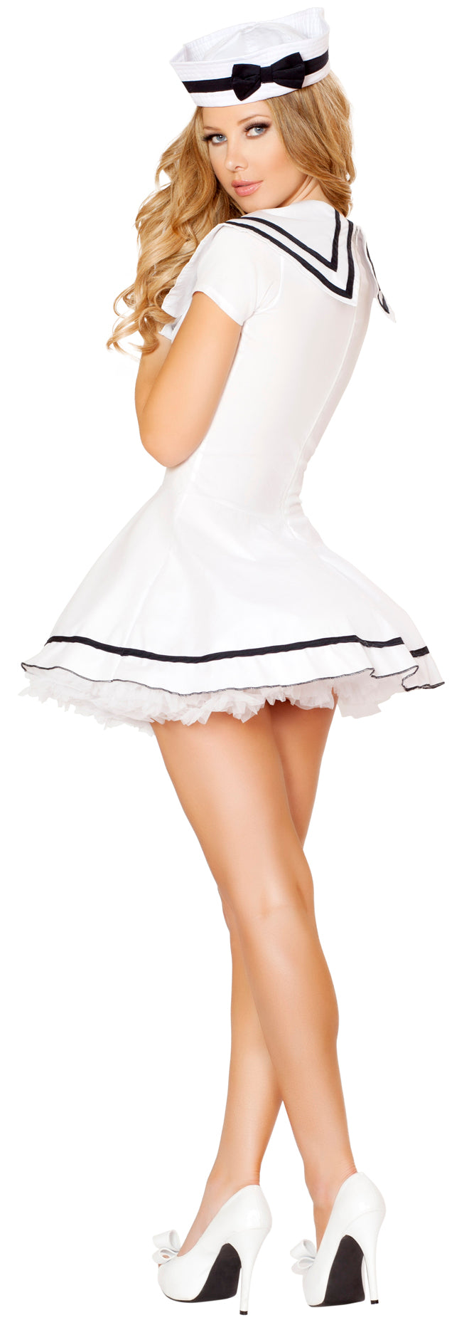 Two Piece Sexy Sailor Maiden Costume Back RM4525