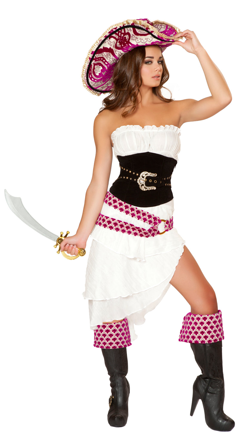 Five Piece Precious Pirate Costume Side RM4526
