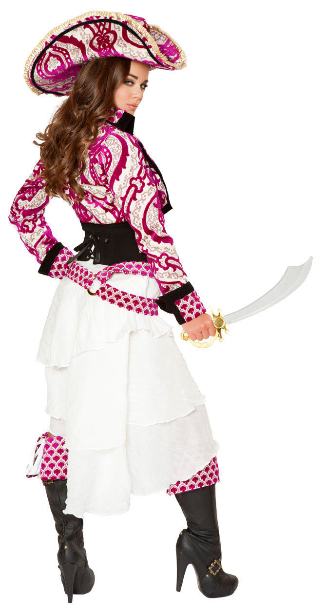 Five Piece Precious Pirate Costume Back RM4526