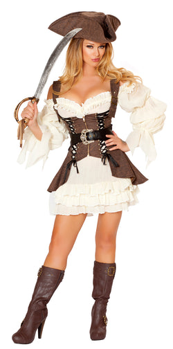 Naughty Ship Wench Costume Front RM4529