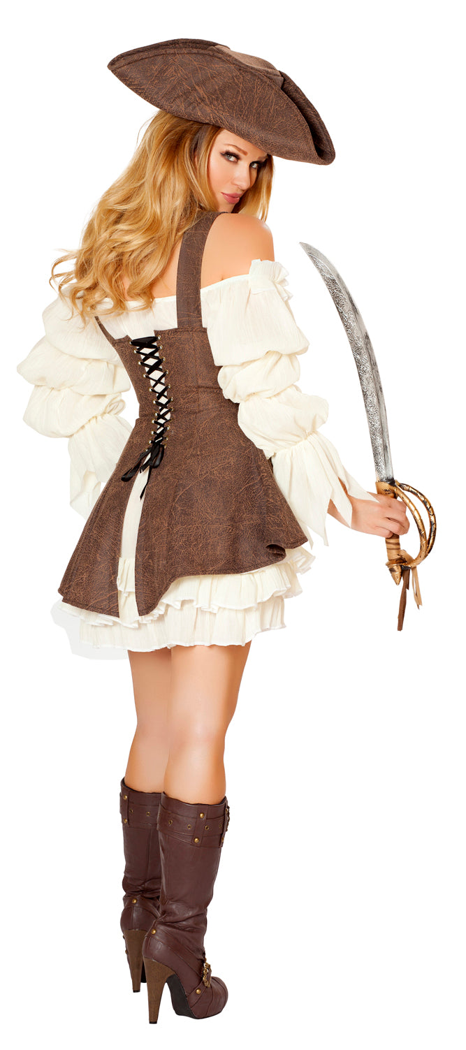 Naughty Ship Wench Costume Back RM4529