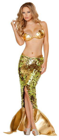 Two Piece Sultry Sea Siren Costume Front RM4530