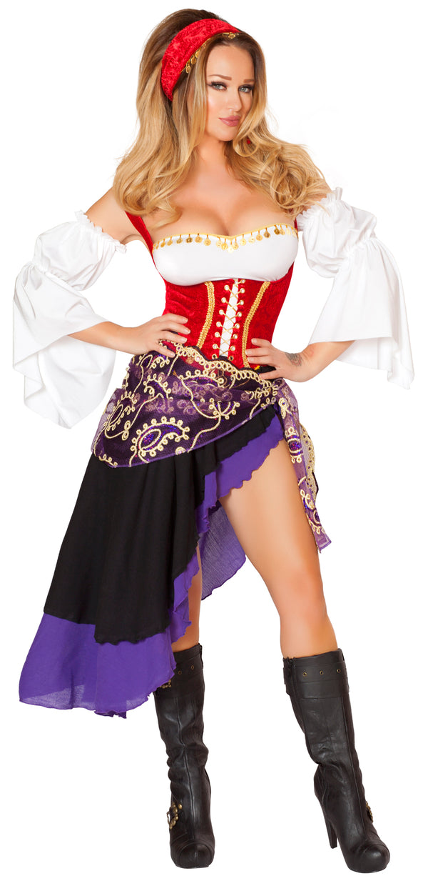 Sexy Gypsy Maiden Costume Front RM4532