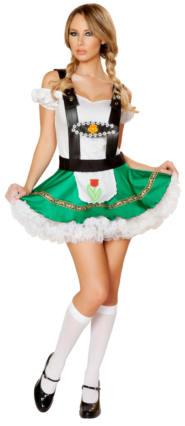 October Fest Beer Girl Costume Front RM4536
