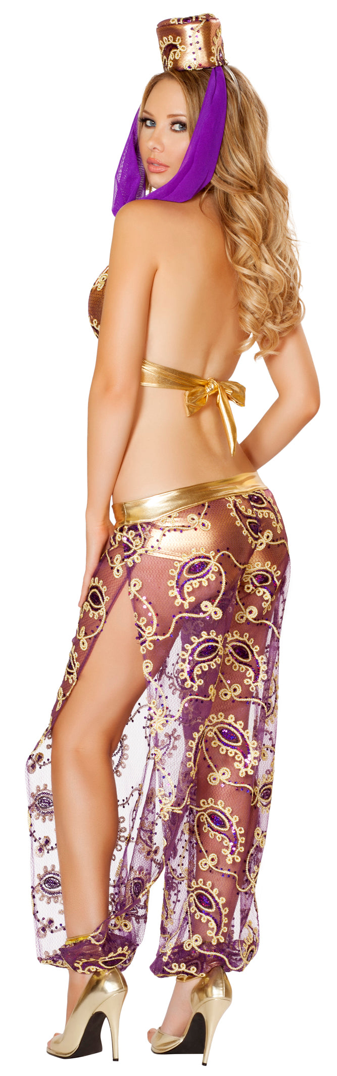 Seductive Genie Costume Back RM4542