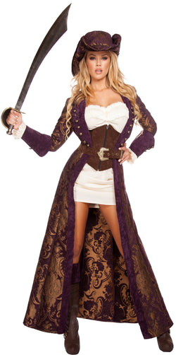 Decadent Pirate Diva Deluxe Costume RM4574 Front