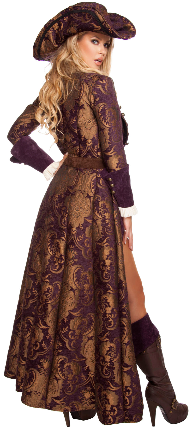 Decadent Pirate Diva Deluxe Costume RM4574 Back