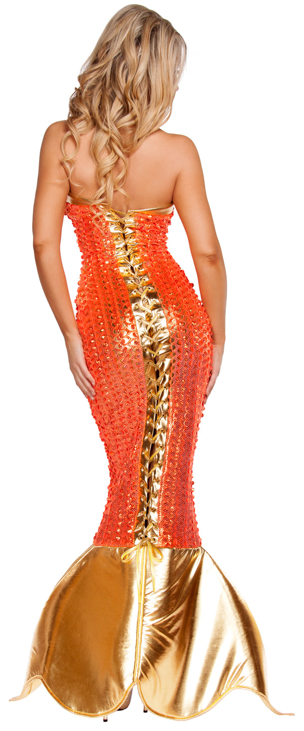 Seductive Ocean Siren Costume RM4578 Back
