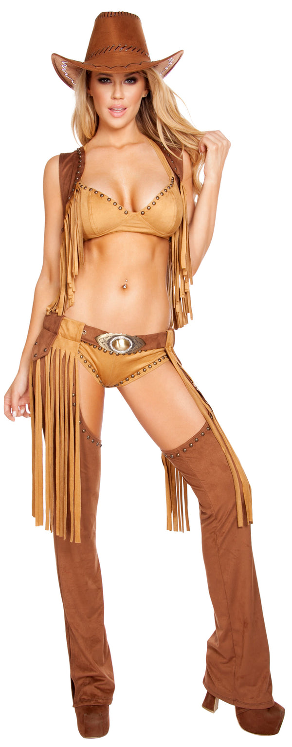 Wild Western Temptress Cowgirl Costume RM4584 Front
