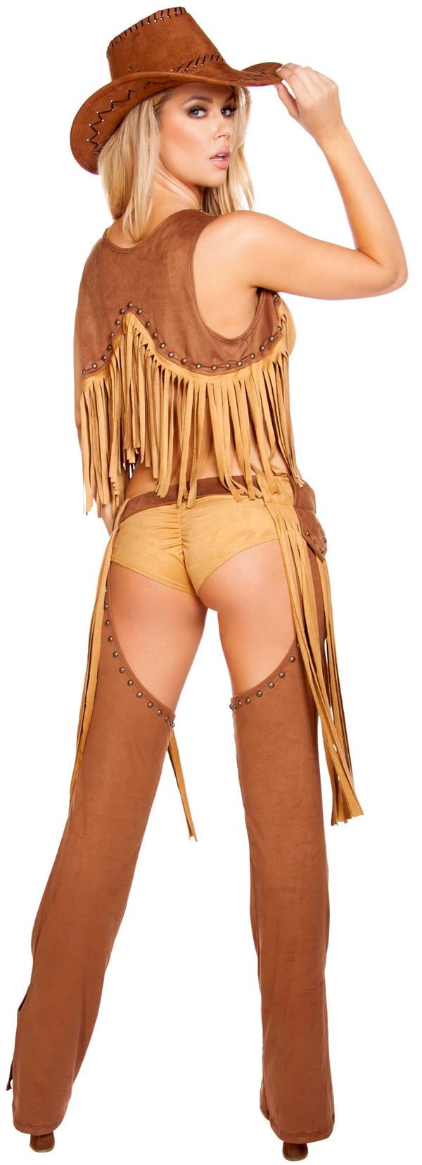 Wild Western Temptress Cowgirl Costume RM4584 Back