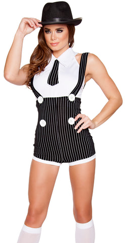 Seductive Mobster Mama Costume RM4589 Front