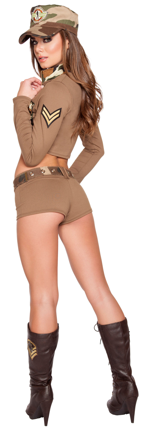 Sexy Soldier Babe Army Costume RM4591 Back