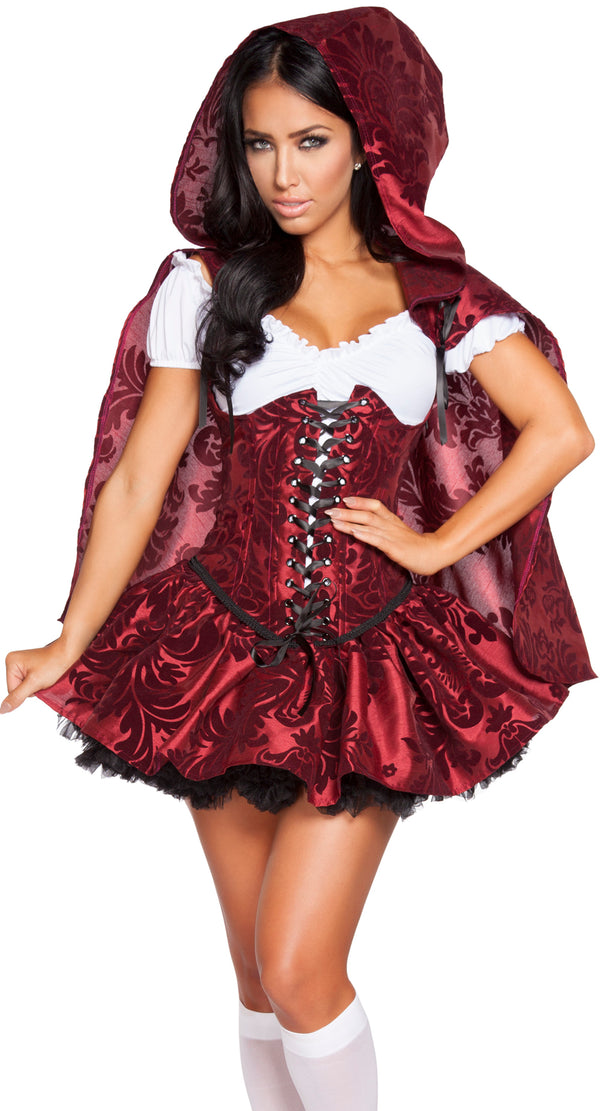 Lusty Little Red Hooding Costume RM4616 Front