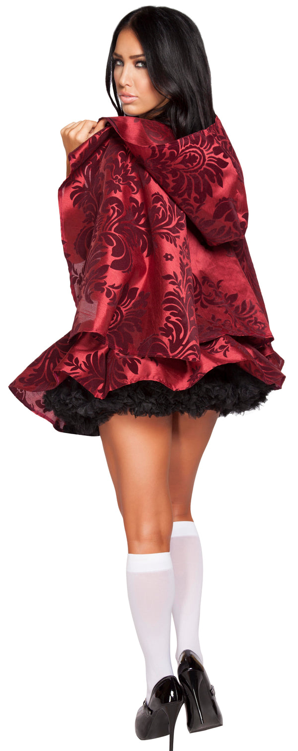 Lusty Little Red Hooding Costume RM4616 Back