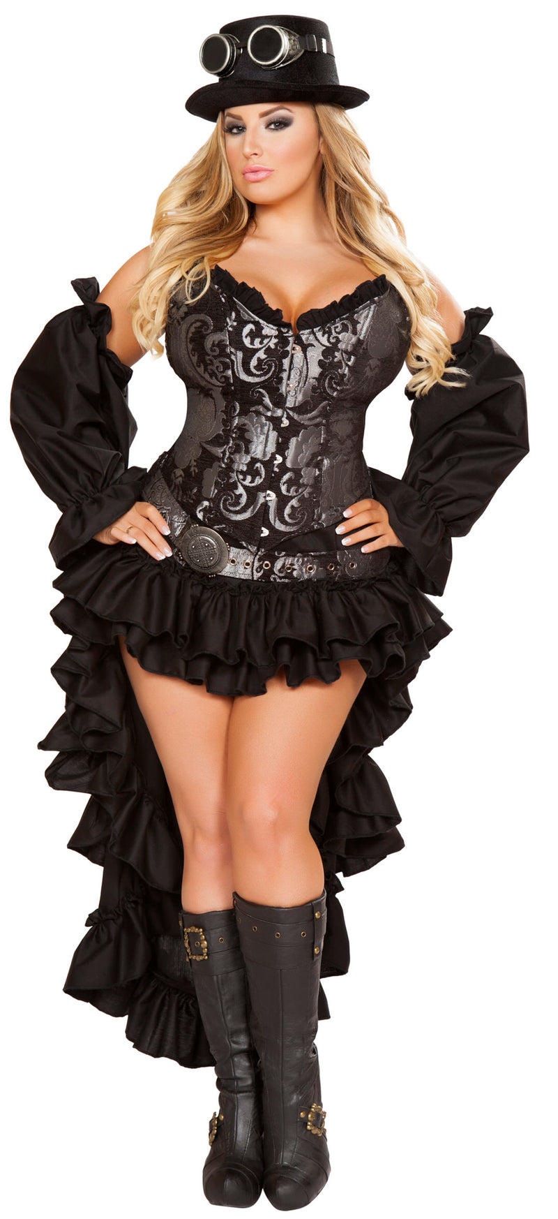 RM-4647 Black steampunk plus front