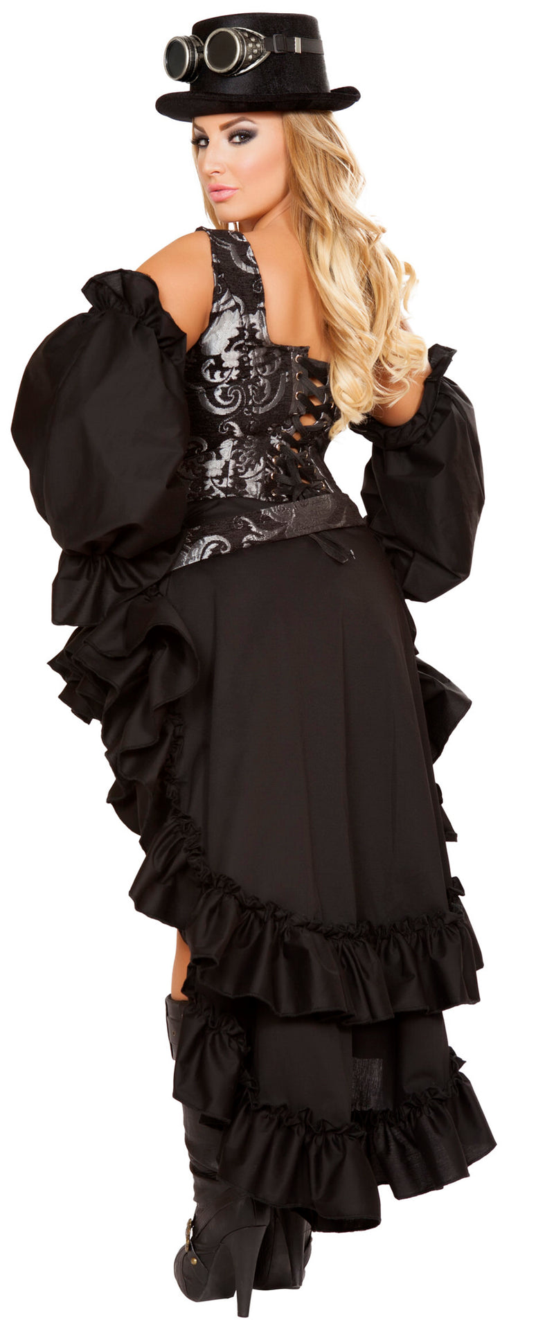 RM-4647 Black steampunk plus back
