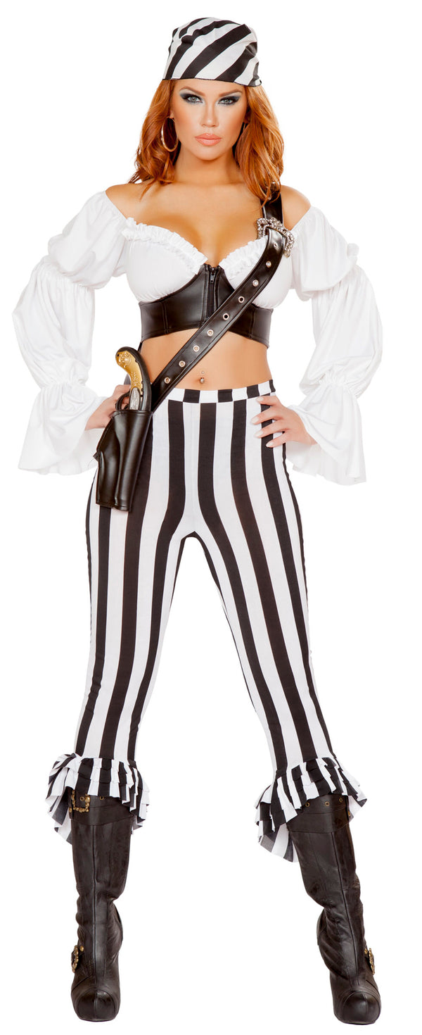 RM-4653 Beautiful Pirate Mate Costume front