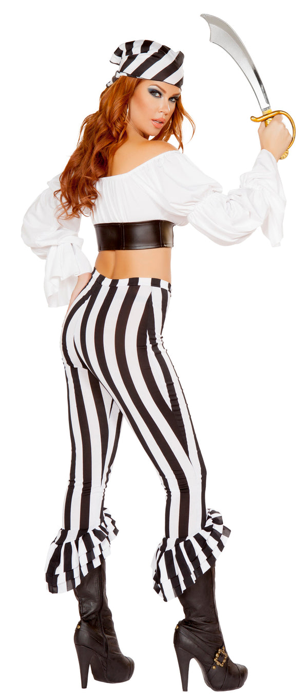 RM-4653 Beautiful Pirate Mate Costume back