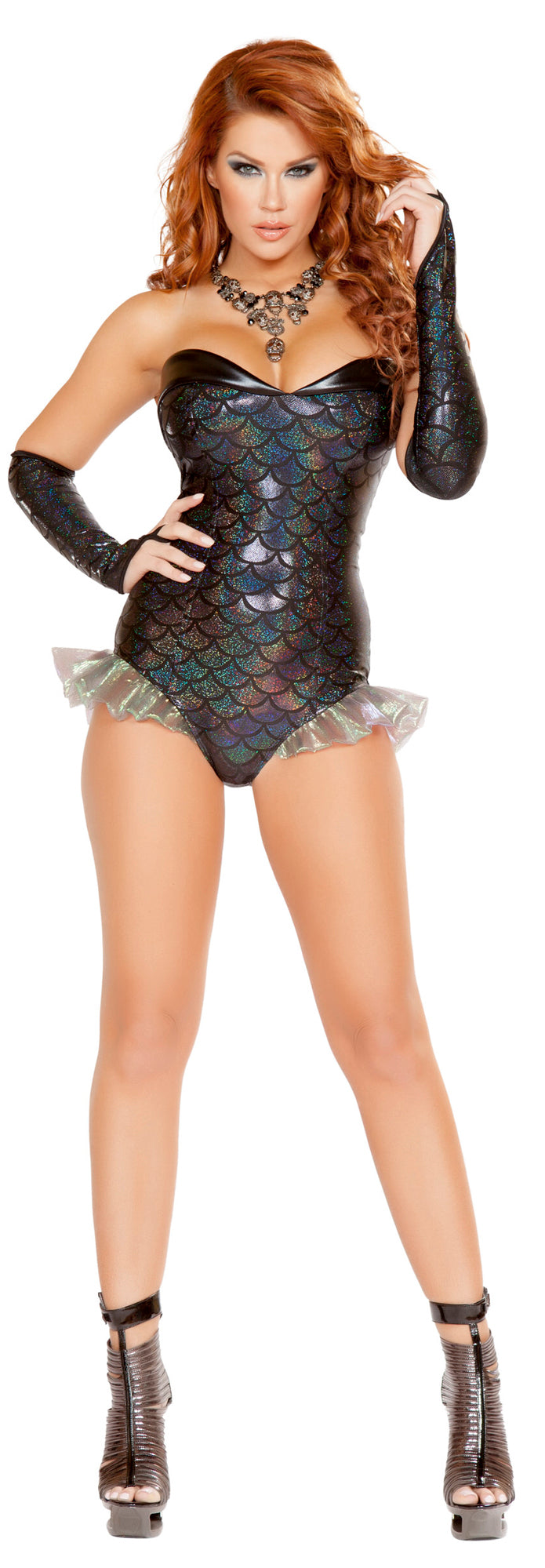 Dark Mermaid Romper Costume RM-4662 Front