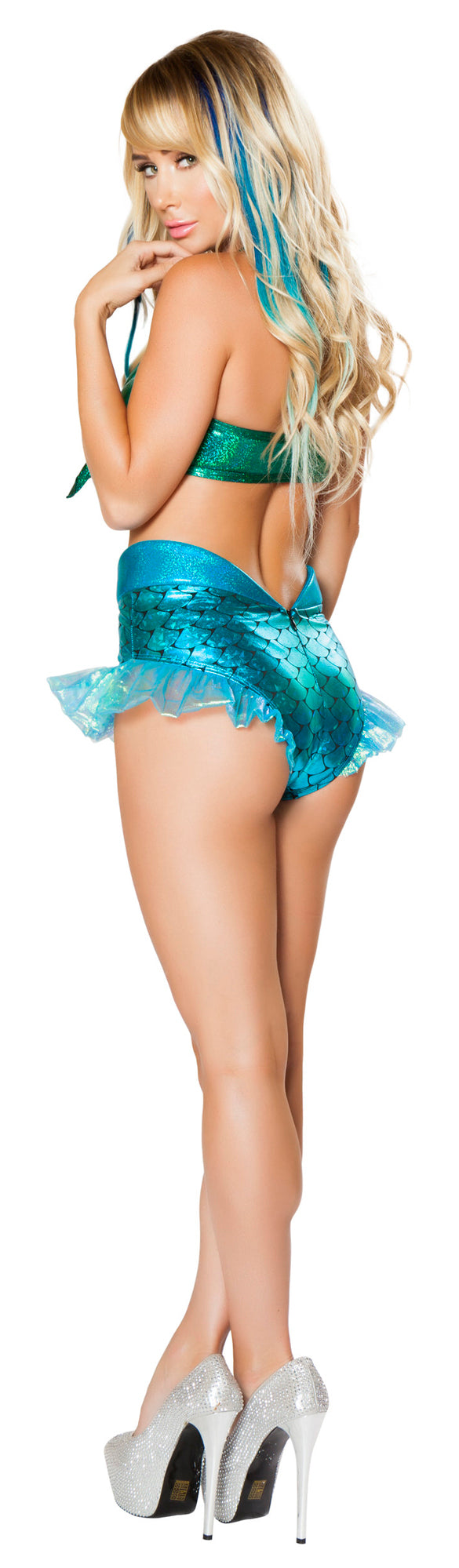 Mermaid Jewel Top and Short RM-4668 Back