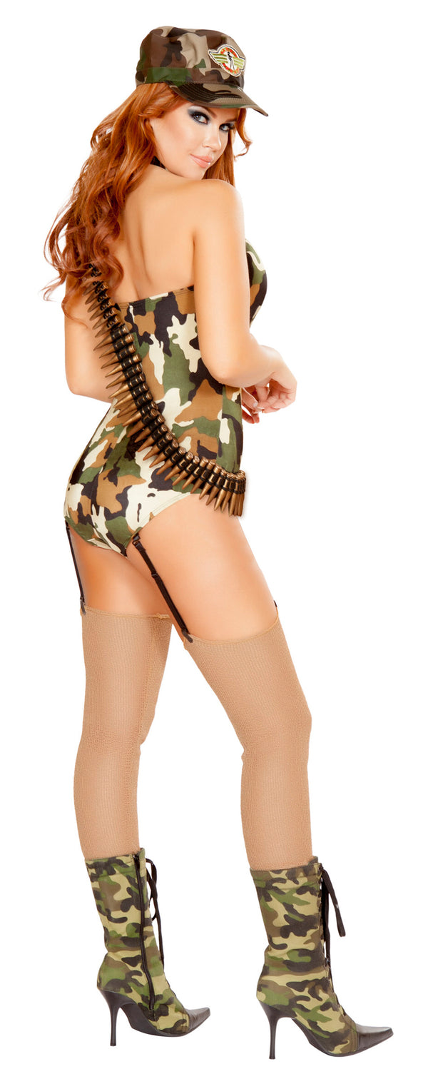 RM-4687 Sexy Sergeant Army Costume back