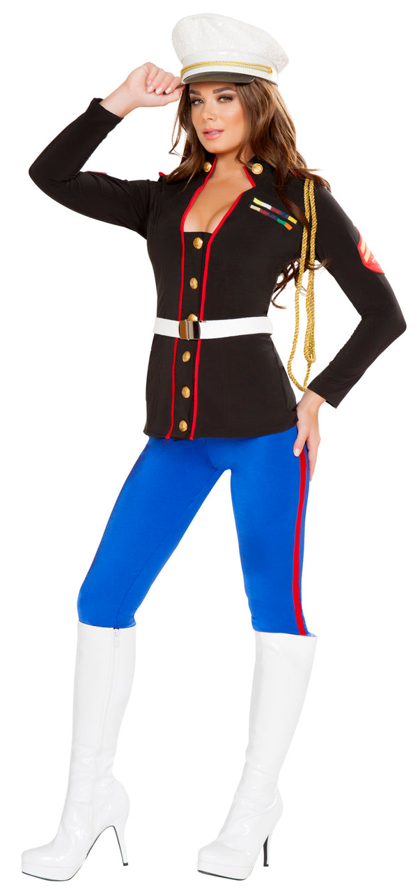 RM-4701 Sexy Marine Corporal Costume front