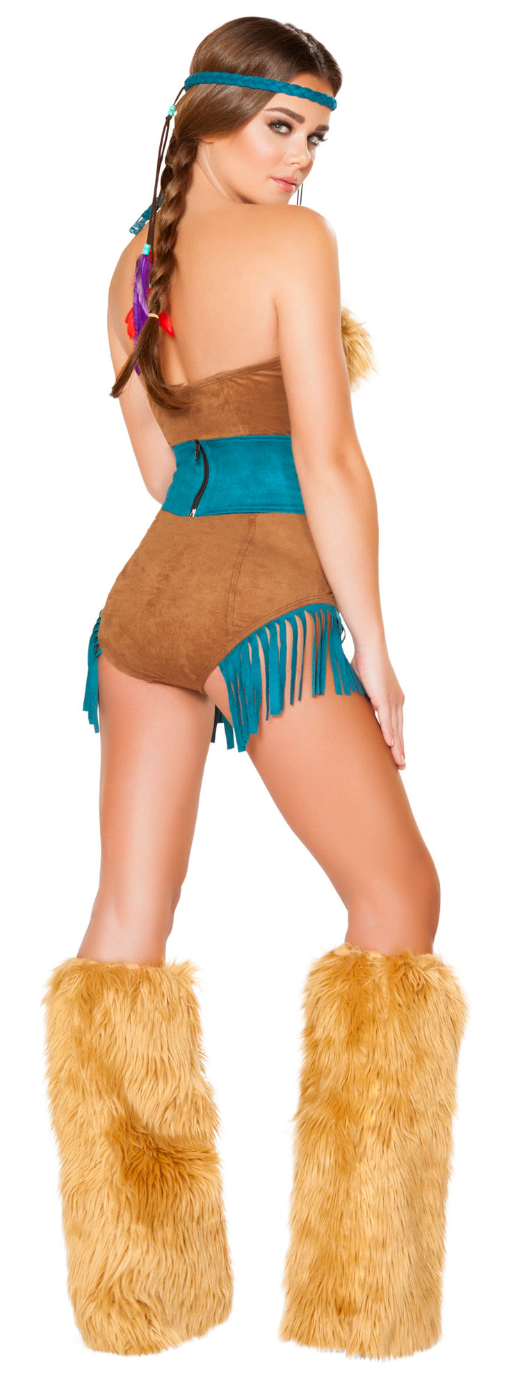RM-4704 Tribal Vixen Costume back