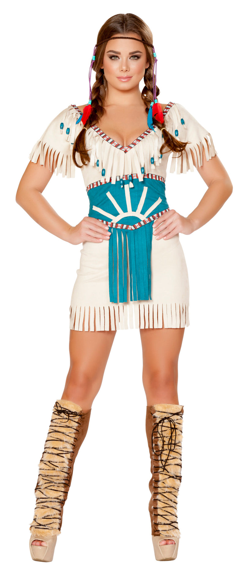 RM-4708 Tribal Babe Indian Costume front