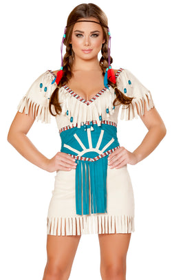 RM-4708 Tribal Babe Indian Costume main