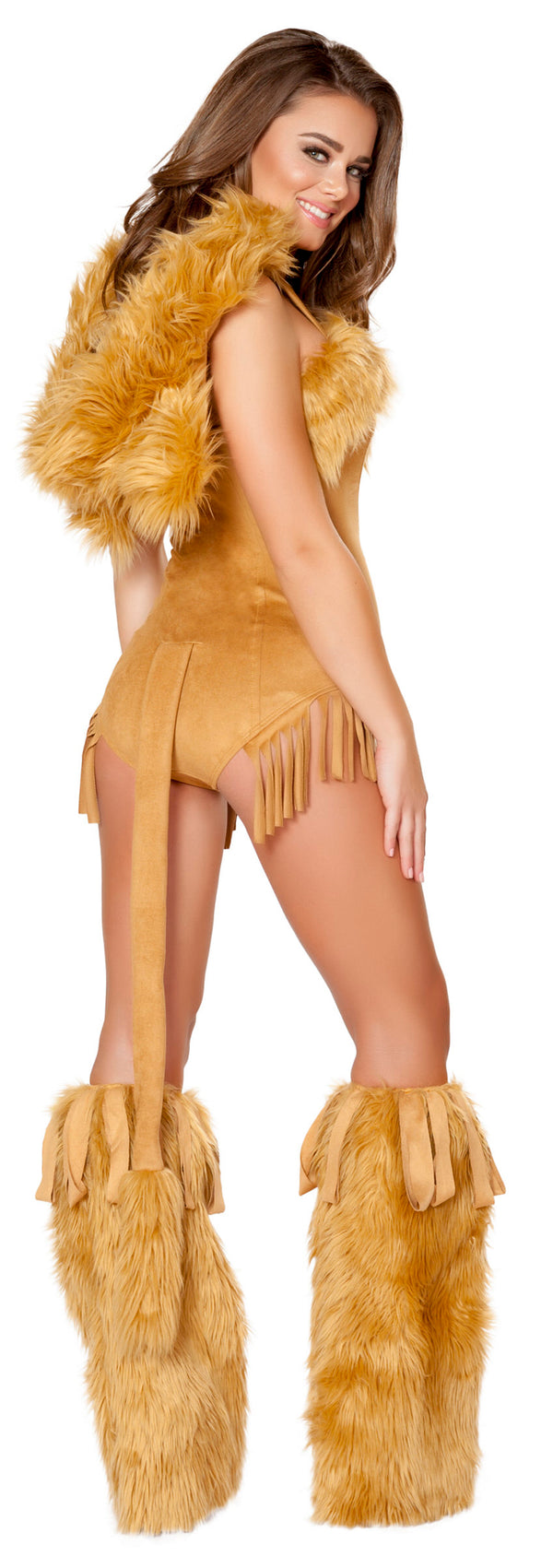 RM-4710 Vicious Lioness Costume back
