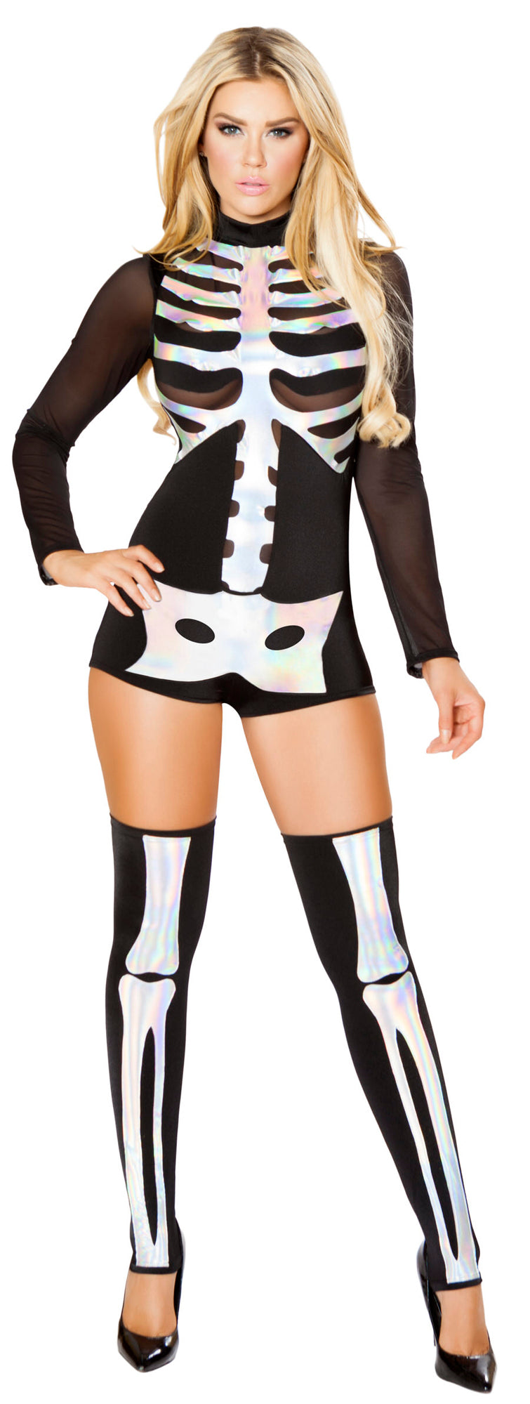 RM-4760 Jackie Skeleton Costume front