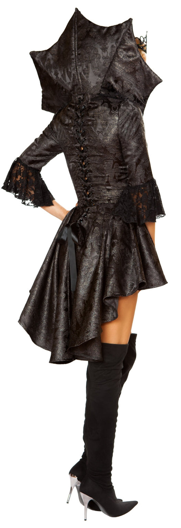 RM-4785 Queen of darkness costume back