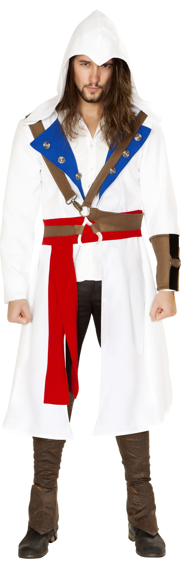 RM-4844 The Assassins Warrior Costume front