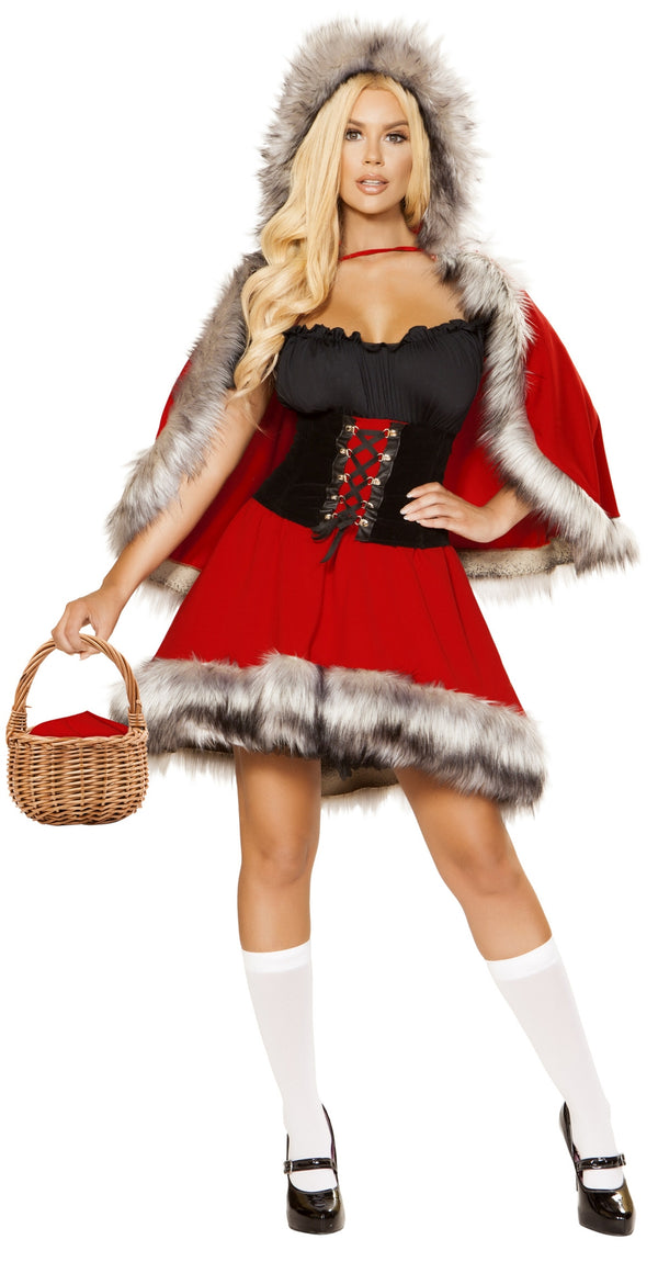 RM-4854 Red Diva Costume 4854 front