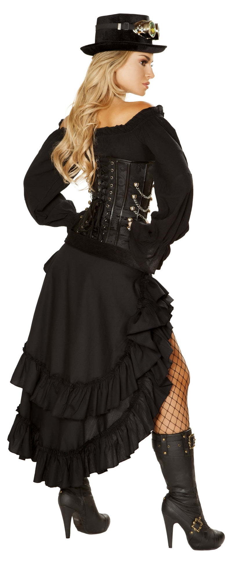 RM-4856 Victorian Steam Maiden Costume 4856 back