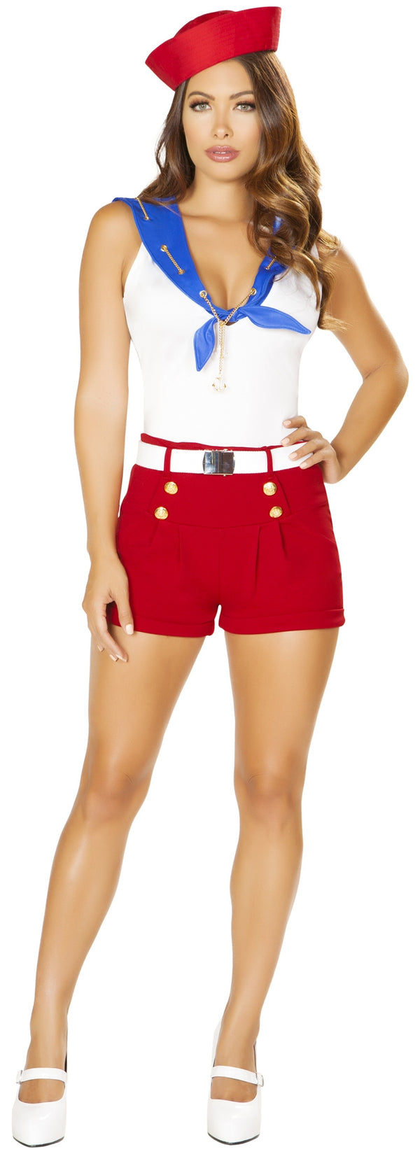 RM-4861 Roma Costume Ahoy Sailor costume front