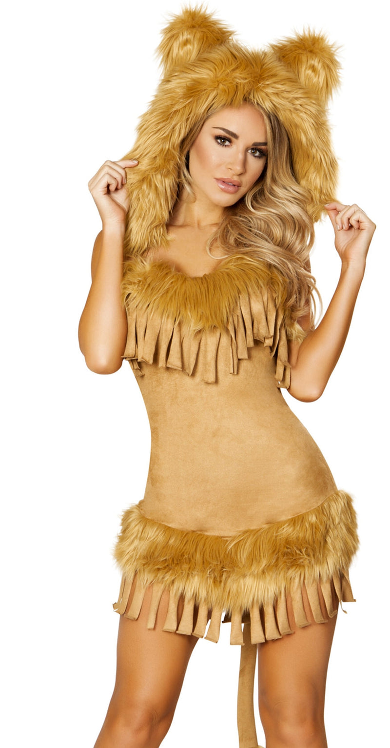 RM-4872 The bashful Lion Costume front
