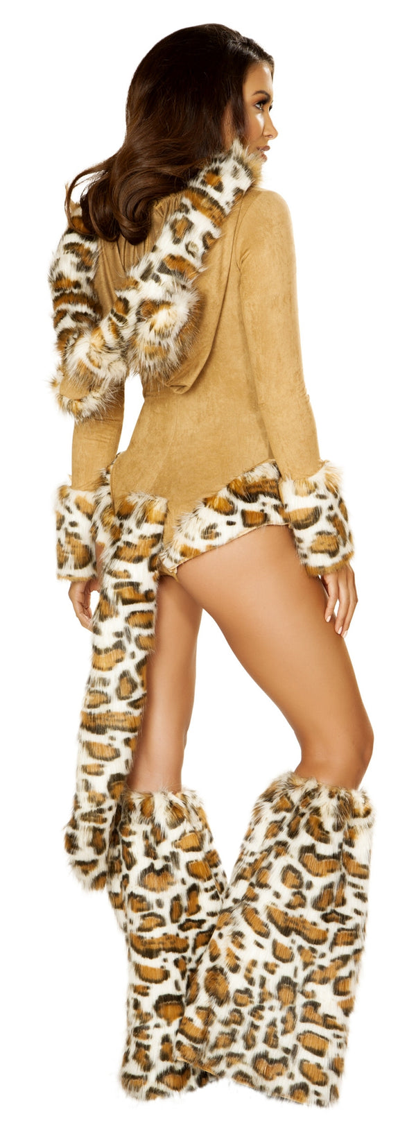 RM-4874 Leopard Princess Costume back