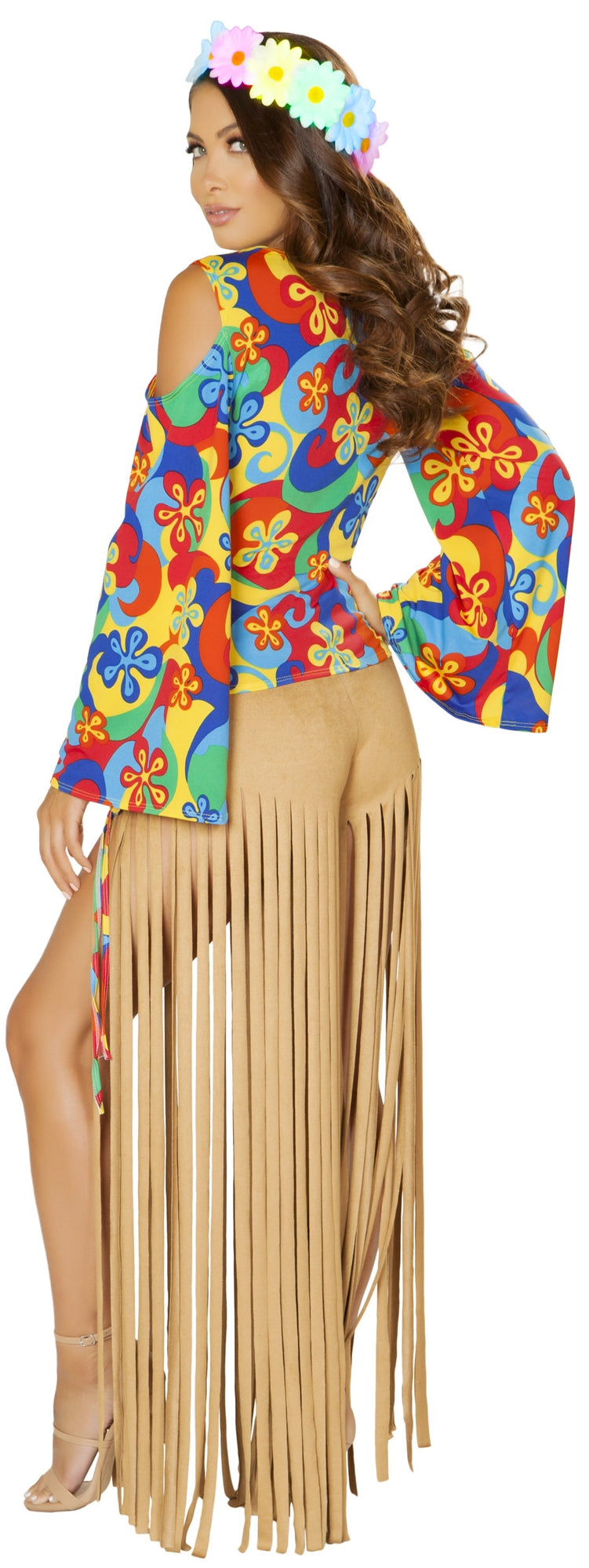RM-4881 Two piece hippie costume