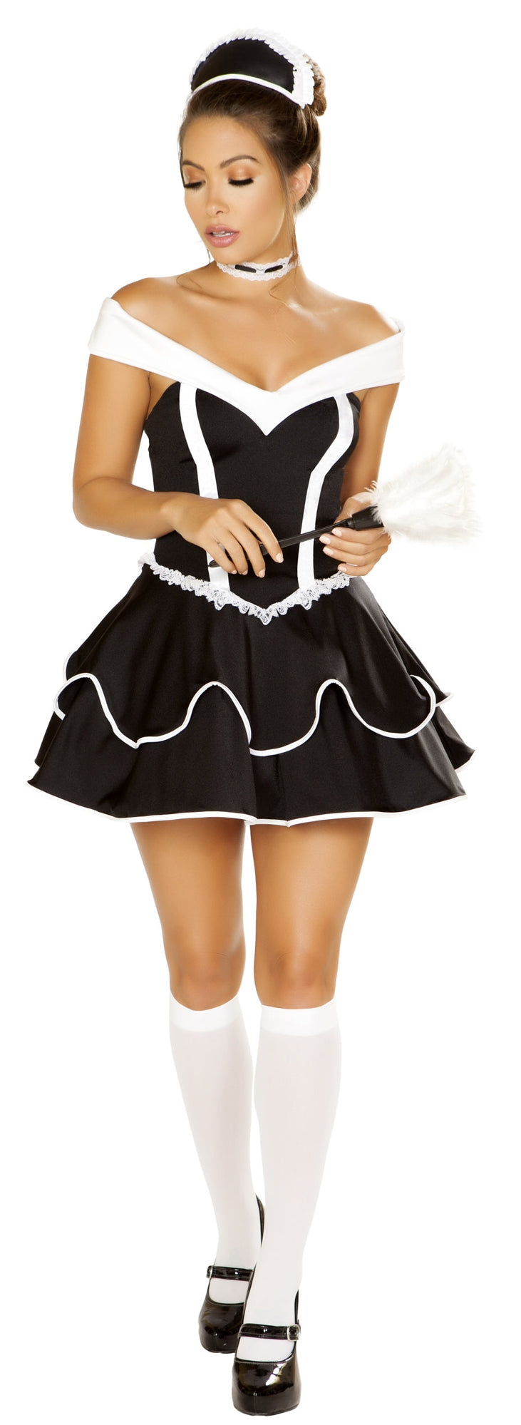 RM-4886 Chamber Maid Costume front